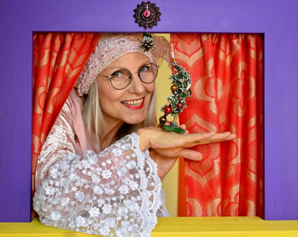 Biggi Hopp Erzähltheater Weihnachtsprogramm für Erwachsene